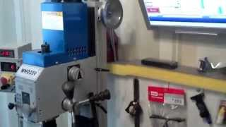 Обзор фрезерного станка WMD25V