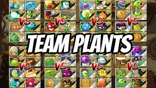 Wild West Team Plants Tournament - Elimination Round| Plants vs Zombies 2 Epic MOD