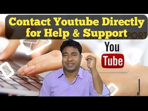 How to directly contact YouTube Employees for help & Support
