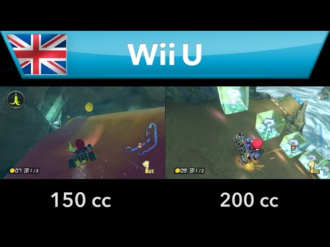 See just how fast Mario Kart 8's new 200cc speed really is