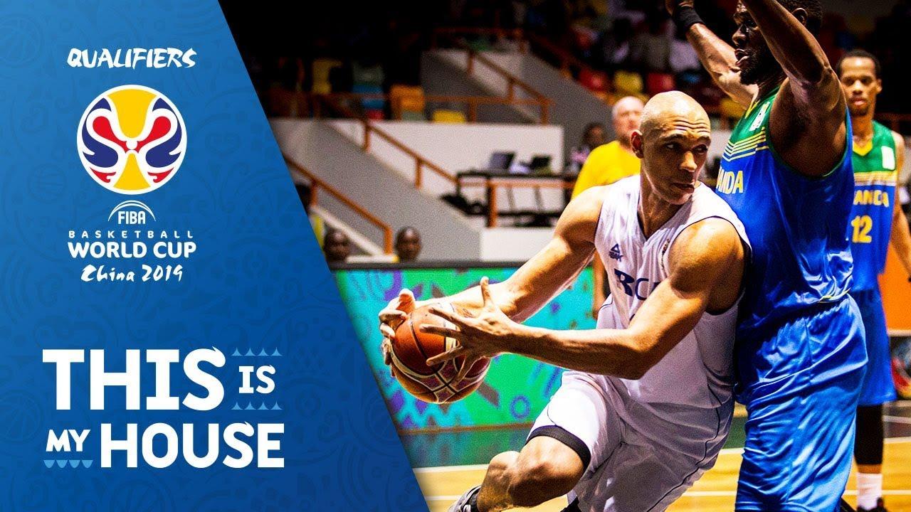 CAF v Rwanda - Full Game - FIBA Basketball World Cup 2019