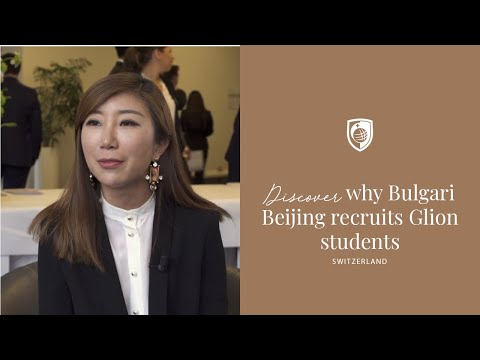 Cicely Zuo, Director of HR for The Bulgari Hotel Beijing, on recruiting Glion students