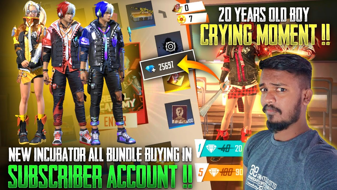 20 yr OLD BOY CRYING MOMENT😭😭 INCUBATOR NEW TRICK   BUYING FOR MY SUBSCRIBER ACCOUNT   RUN GAMING