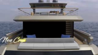 New Yacht COUACH 38m. First of a new in-house line : Lounge.