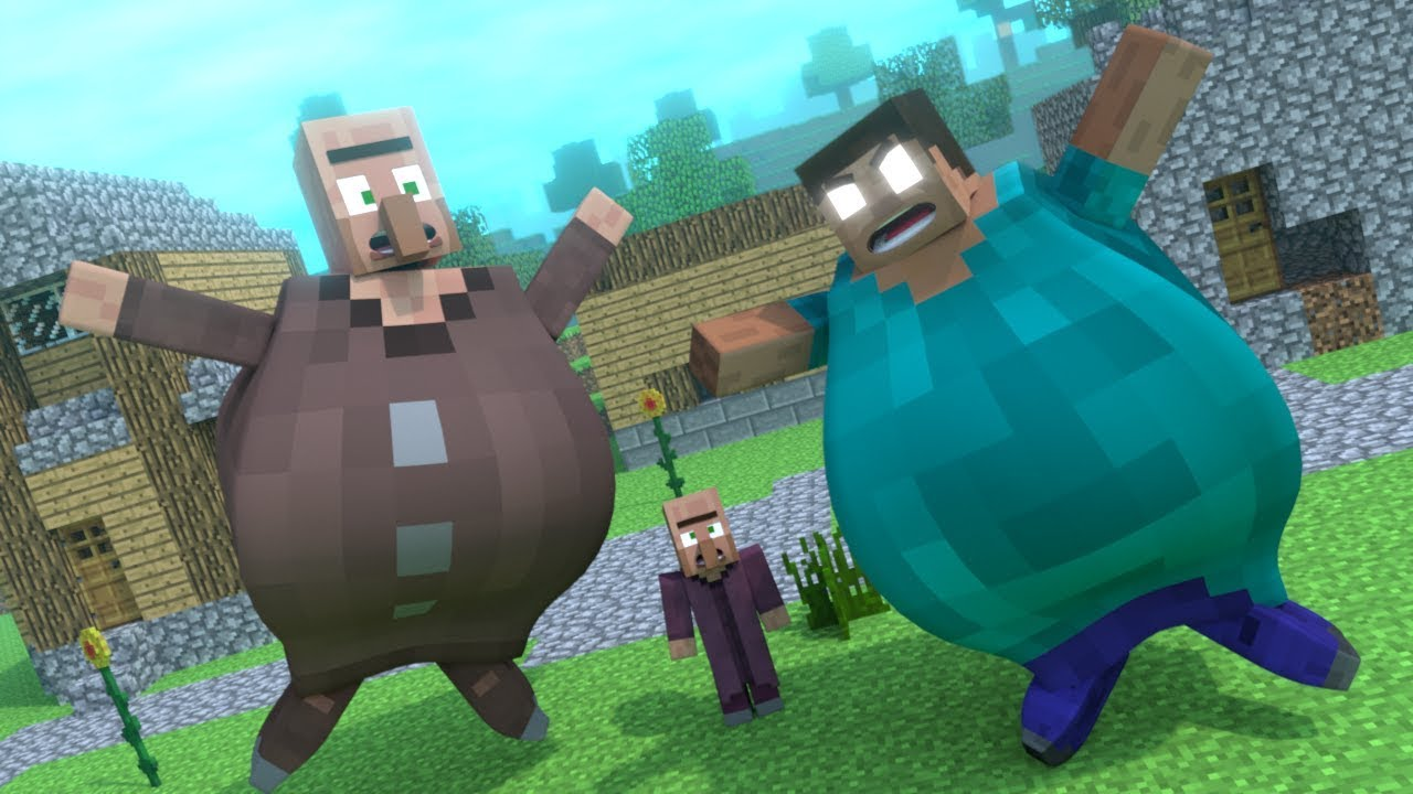 Top 5 Funny Minecraft Animations