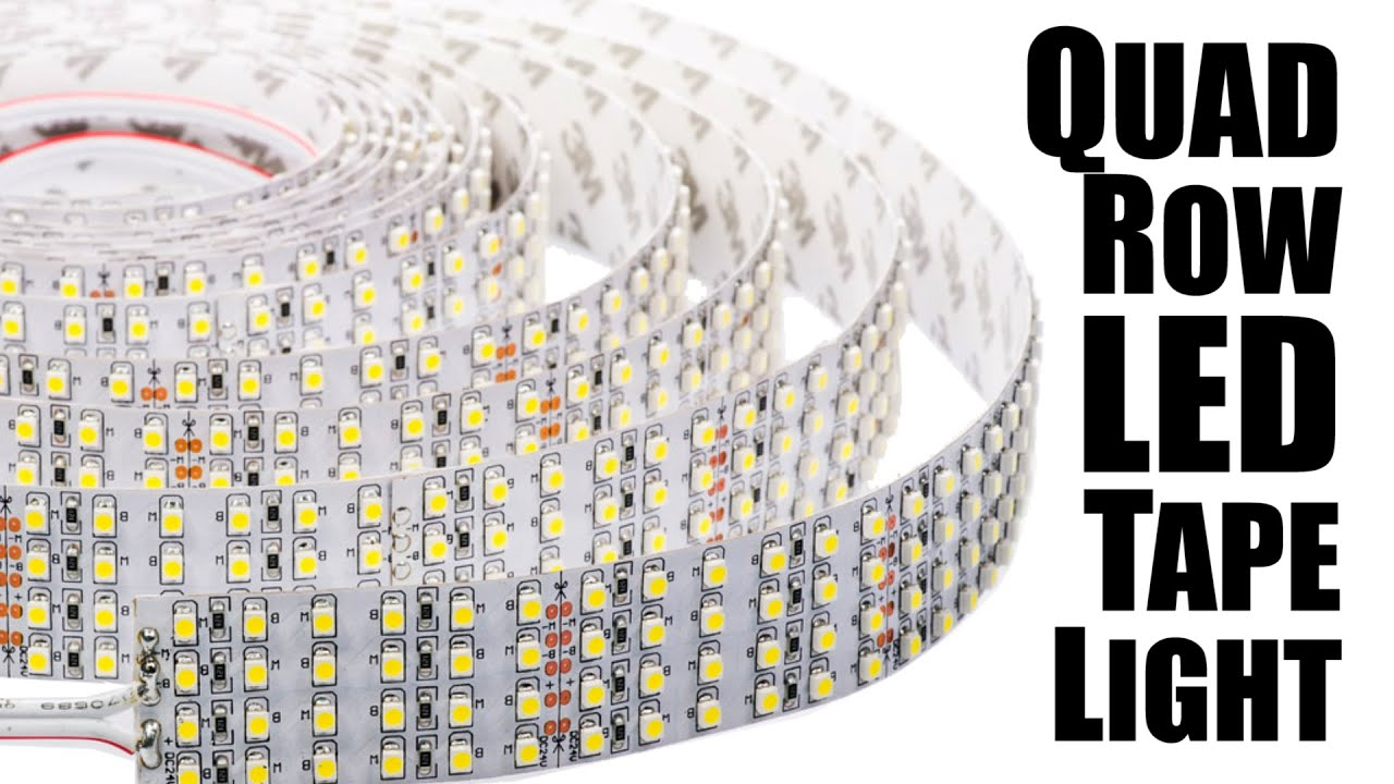 World S Brightest Led Light Strips Quad Led Tape Light