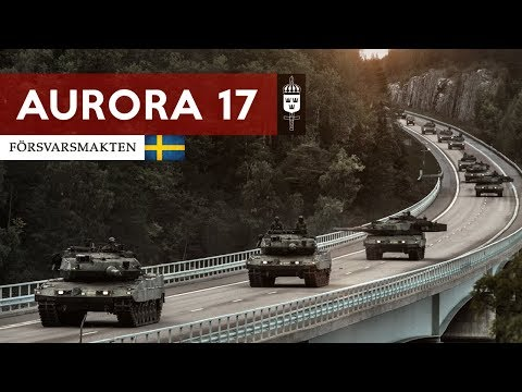 AURORA 17 Sweden & allies ready to protect North