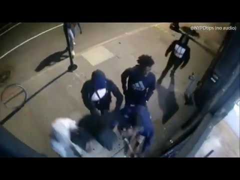 George Floyd Riots of 2020 NYC - Shocking moment BLM looters run over police officer