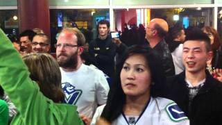 Canucks win over San Jose Western Conference Championship game winnig goal.MOV