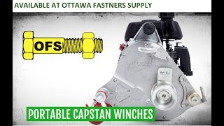 Portable Winch Available at Ottawa Fasteners Supply