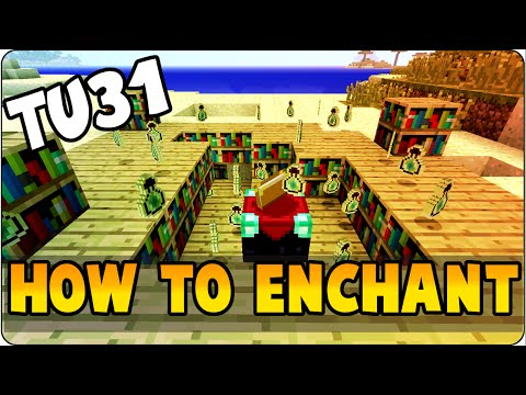 how to make enchanted books in minecraft ps4