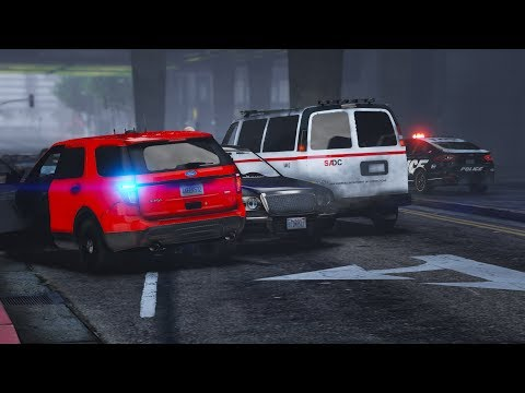 LSPDFR - Day 522 - Motor Vehicle Accident