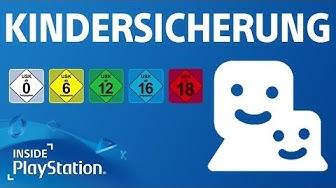 Kindersicherung & Familienverwaltung auf der PS4 - So geht's!