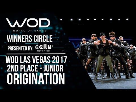 OrigiNation | 2nd Place Junior | Winners Circle | World of Dance Las Vegas 2017 | #WODLV17