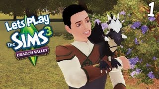 Lets Play: The Sims 3 Dragon Valley (Part 1)
