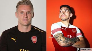 WELCOME TO ARSENAL LENO AND TORREIRA   ARSENAL TRANSFER UPDATE #16