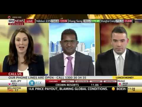 Chris Conway on Sky Business 28 January, 2016