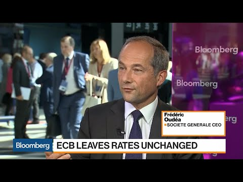 SocGen CEO on ECB, Capital Markets, Banking Union, Trade