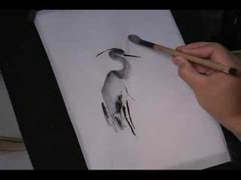 Chinese Brush Painting Basic Lesson 1:2