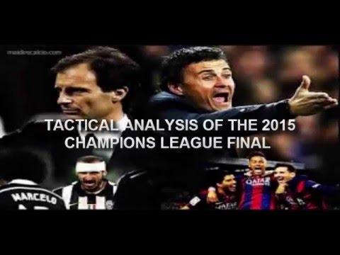 champions league final 2015 Tactical Analysis Barcelona vs ...