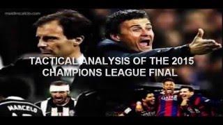 champions league final 2015 Tactical Analysis Barcelona vs Juventus