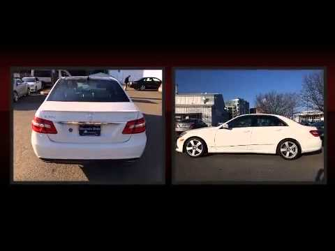 2011 mercedes benz e class e350 4matic sport sedan youtube for Mercedes benz arlington service center