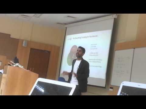 Marketing challenge presentation at IIM Indore