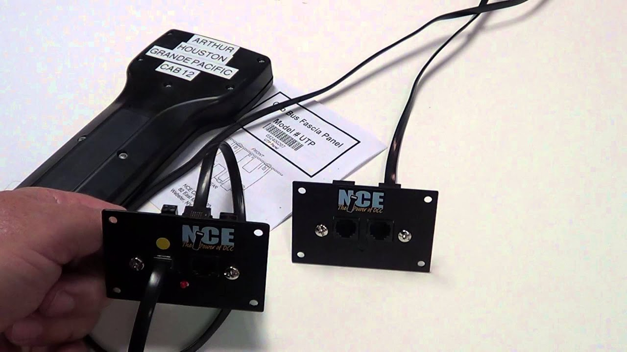NCE CAB BUSS PT 2 of 2 - YouTube Nce Dcc Wiring Diagrams For Mini Panel on