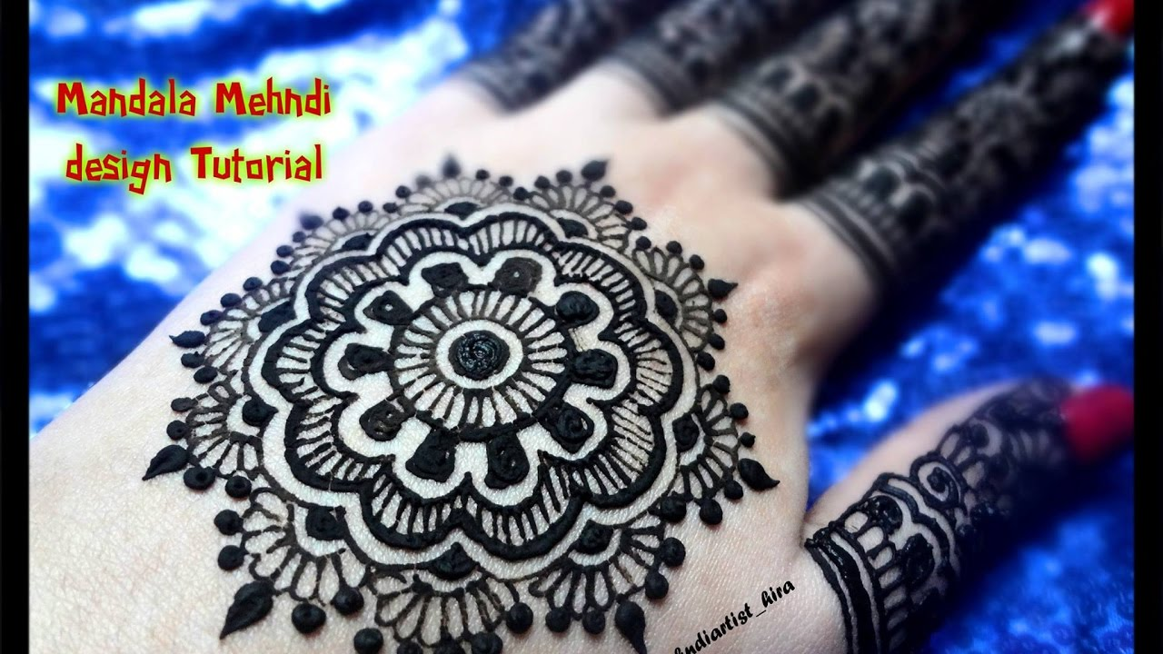 Diy Henna Designs How To Apply Easy Simple Mandala Mehndi Designs