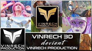 VINRECH 3D devient VINRECH PRODUCTION ! - VINRECH PRODUCTION