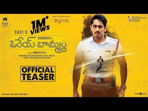 Orey Baammardhi Movie 2021 | Siddharth | G.V. Prakash Kumar | Sasi | Siddhu Kumar