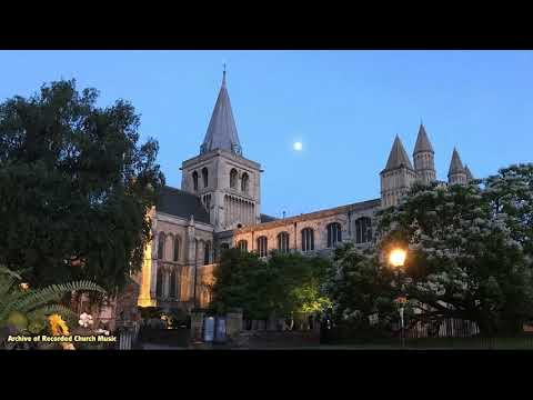 BBC Choral Evensong: Rochester Cathedral 1979 (Barry Ferguson)