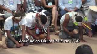 Abertura do I Fórum Social da UFSB