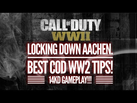 MASTERING AACHEN | COD WW2 | 14KD GAMEPLAY!!!