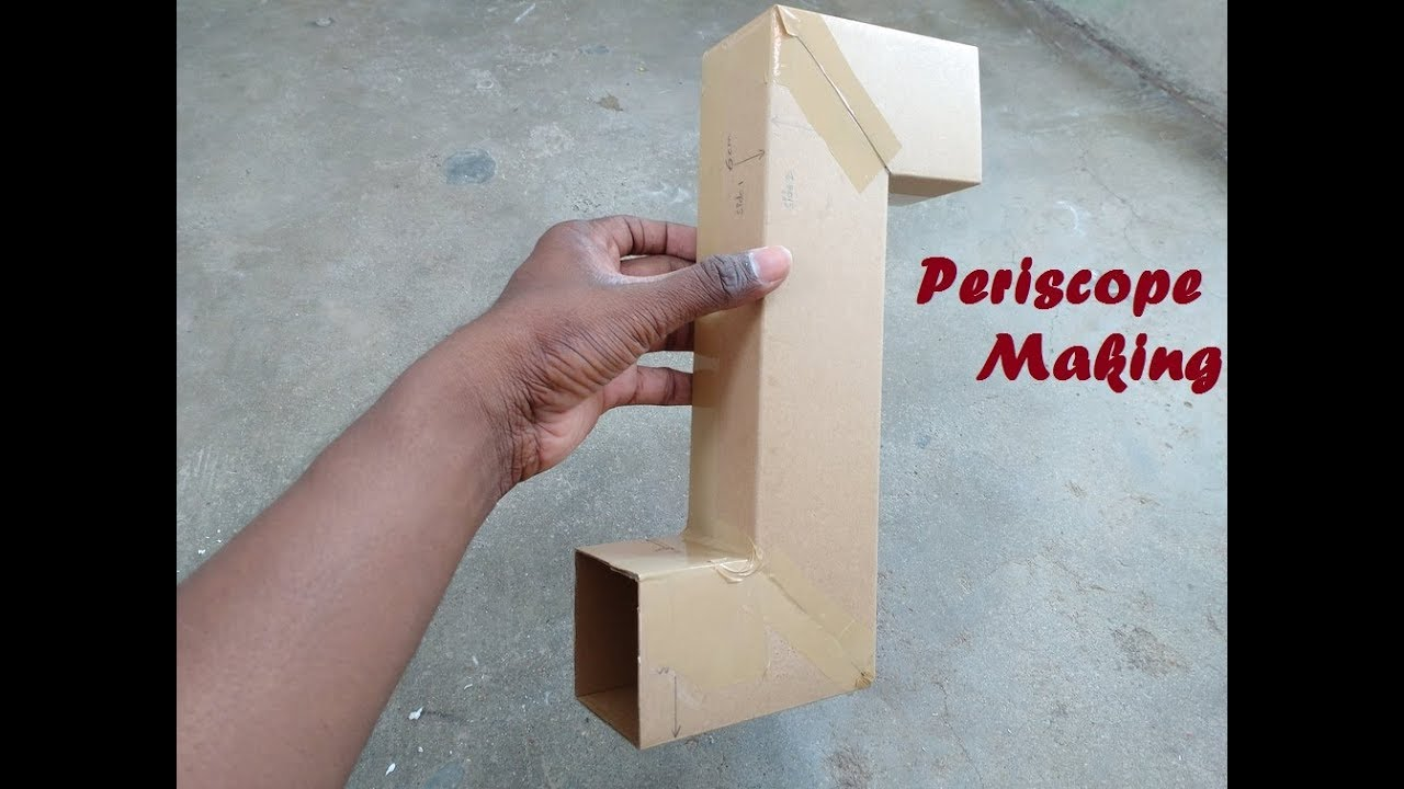 How to make simple Periscope at Home  Periscope making