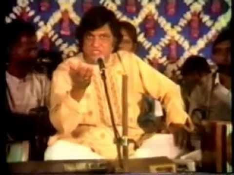 HIT QAWWALI ALLAH HI ALLAH  BY AZIZ NAZAN, LIVE SHOW RARE VIDEO