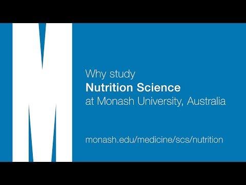 Why Study Nutrition Science at Monash University, Australia