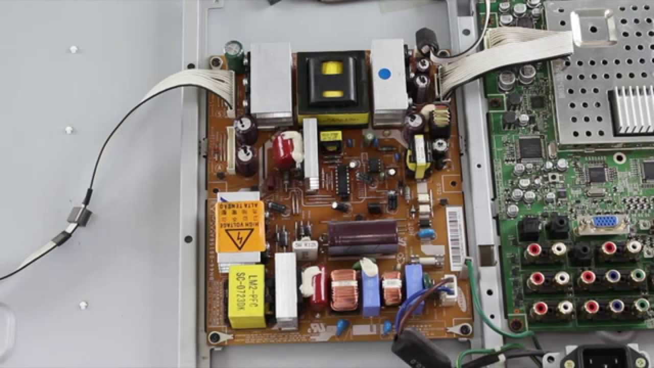 small resolution of samsung led tv won t turn on no power no standby light basic samsung tv un50h6203 wiring diagram