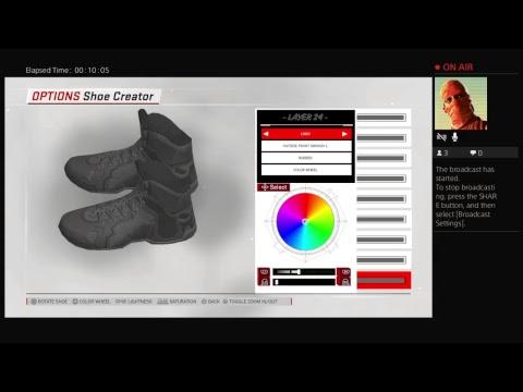 69ce5fa41dec NBA 2k18 All shoes shoe creator test - YouTube