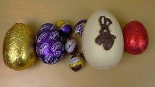 8 Chocolate Eggs of the UK [Easter Egg, Avengers, KitKat, Cadbury Creme Egg]