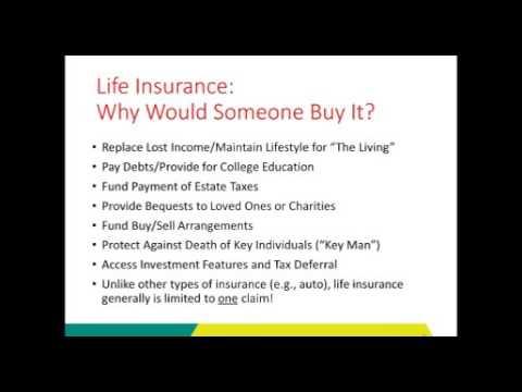 Webinar Series:  Risk Management Insurance Fundamentals, Life & Health Insurance