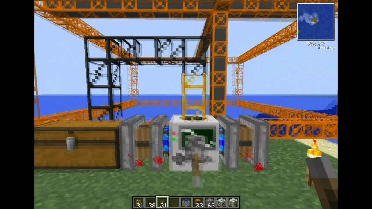 Buildcraft Quarry - Year of Clean Water