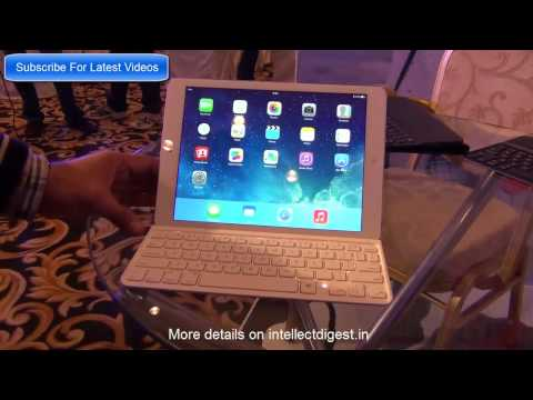 iPad Air Keyboard Covers And Folio Covers By Logitech Review &  Hands On Video HD
