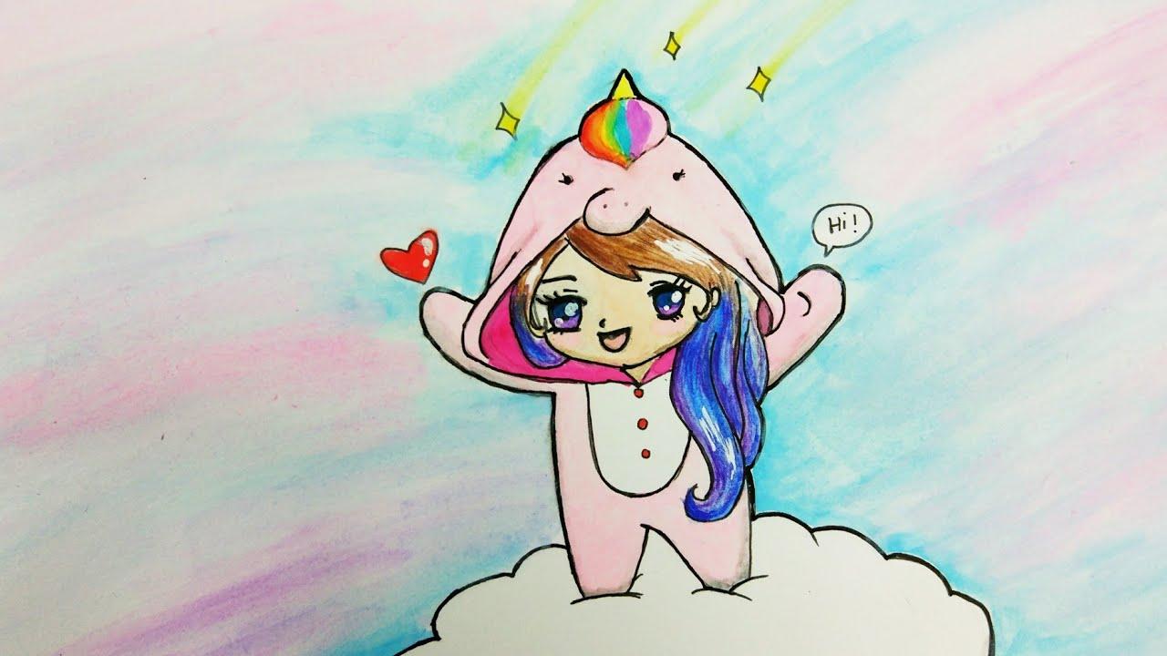 Cute Unicorn Girl Chiby Youtube