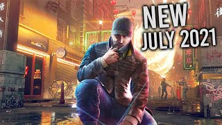 Top 10 NEW Games of July 2021