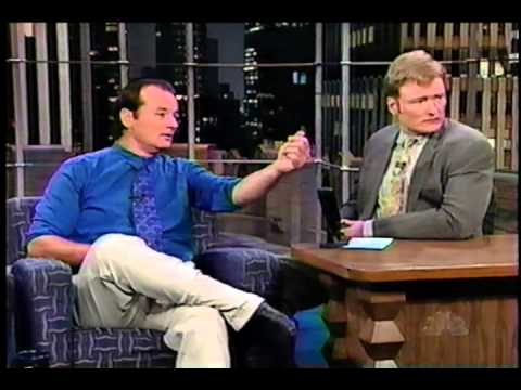 Bill Murray on Conan (1997-11-14) COMPLETE