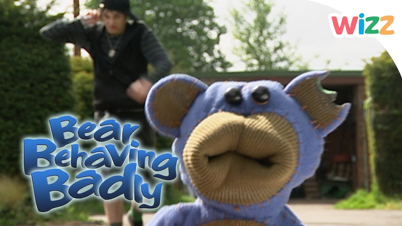 Bear Behaving Badly - Nev Gets Chased By Bouncer Boy - YouTube