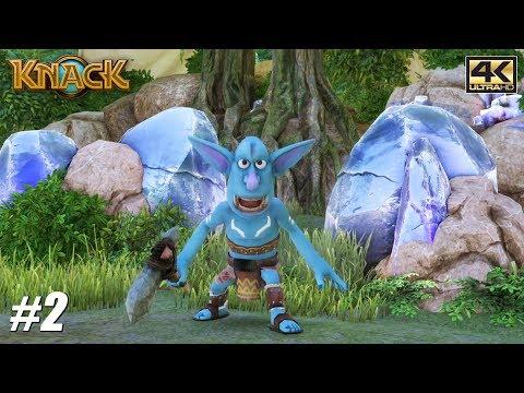 Knack - PS4 Pro Gameplay Playthrough 4K 2160p - PART 2