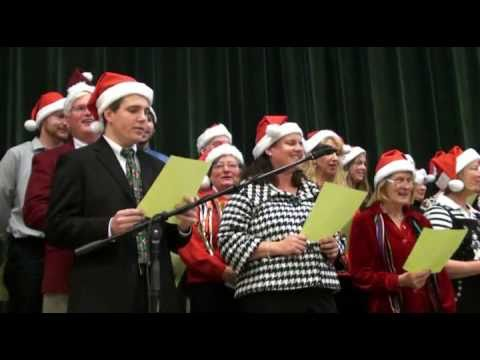Pennfield School Faculty - 2010 Holiday Song