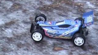 Tamiya Gravel Hound 4WD - Fahrten auf dem Eis.